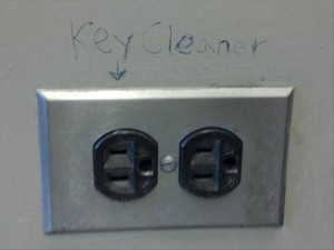 funny pranks, key cleaner funny picture
