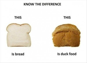 know the difference funny bread