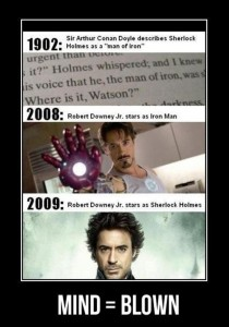 mind blown iron man funny