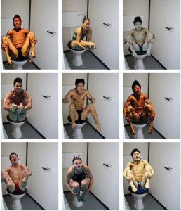 olympic divers on the toilet funny pictures