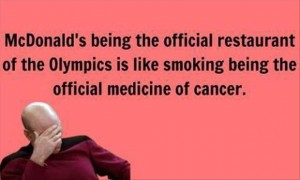olympic funny pictures mcdonalds
