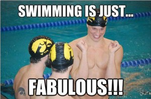 olympic swimmers funny picture