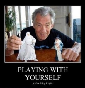 playing with yourself, demotivational posters, funny pictures