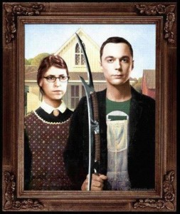 sheldon cooper and amy ferrah fowler funny picture