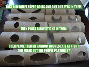 toilet paper roll pranks