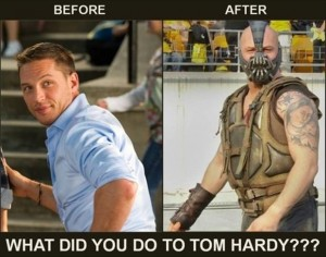 tom hardy batman bane funny pictures