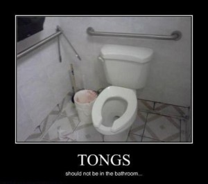 tongs demotivational posters