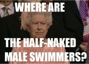 where are all the half naked male swimmers