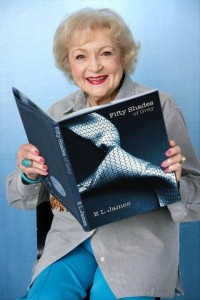 50 shades of grey, betty white