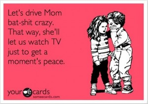 crazy mom, funny