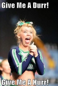 dumb cheerleaders, funny pictures