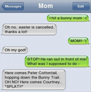 funny texts from parents, funny texts