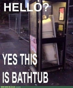 hello, yes this is bathtub, funny pictures