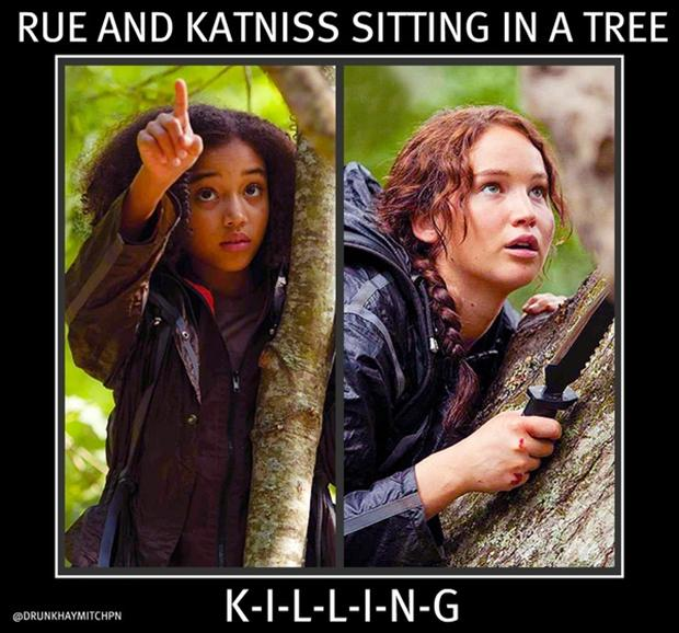 Katniss Hunger Games Funny