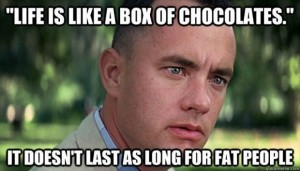 life is like a box of chocolates funny forrest gump