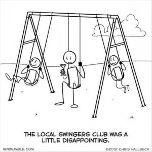 local swingers club, funny comic
