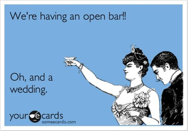 open bar, someecards