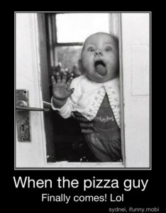 pizza guy, funny demotivational posters