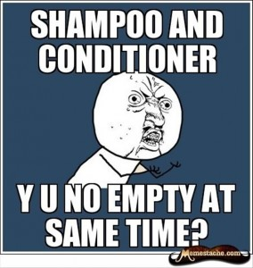 shampoo and conditioner, funny