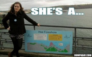 shes a hoe foreshore, funny pictures