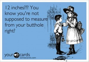 12 inches, someecards funny