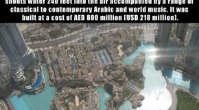 The World Record Dubai Fountain – 13 Pics