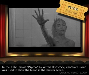 Movie Facts- Psycho