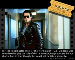 Movie Facts- Terminator