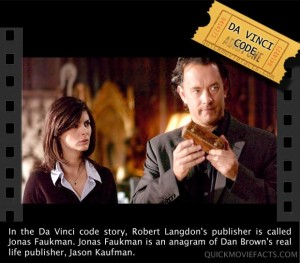 Movie Facts- The Da Vinci Codei