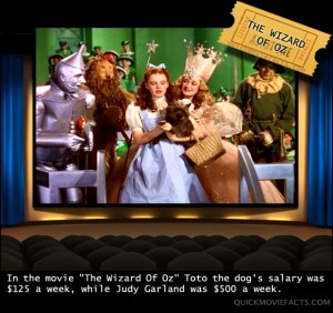 Movie Facts- The Wizard Of Oz