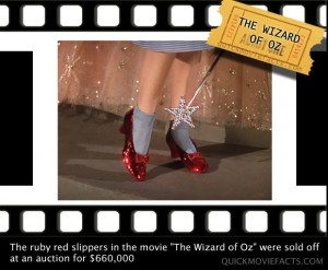 Movie Facts- The Wizard Of Oz Facts