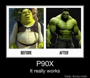 P90X, funny