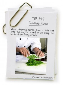 Picture-The-Recipe-Tips-Chopping-Herbs