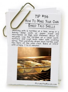 Picture-The-Recipe-Tips-How-To-Make-Your-Own-Baked-Taco-Shells