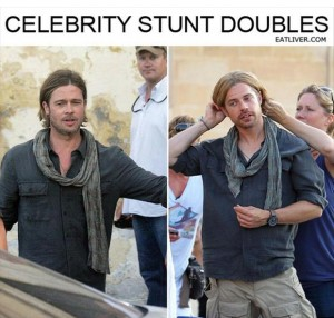 celebrity stunt doubles, thumb