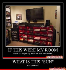 funny demotivational posters, gamer