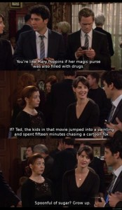 funny how I met your mother