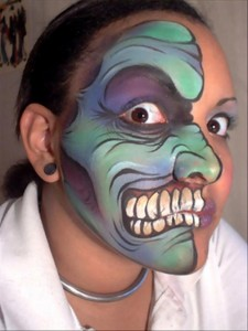 halloween face painting, dumpaday (32)