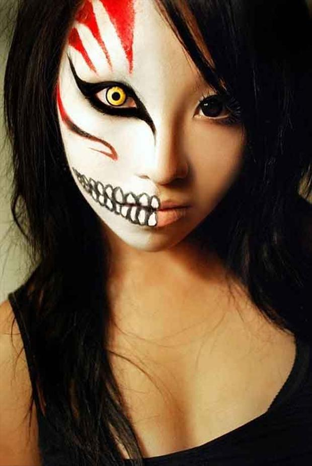 halloween face painting, dumpaday (6)