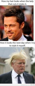 man hair cut, funny pictures