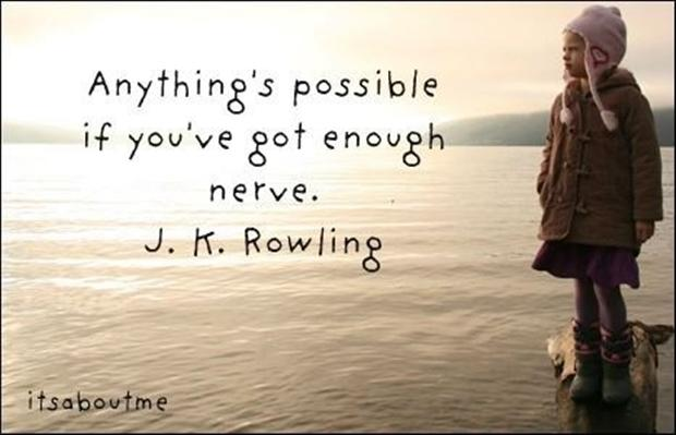 Superieur Everything Is Possible Motivational Quote