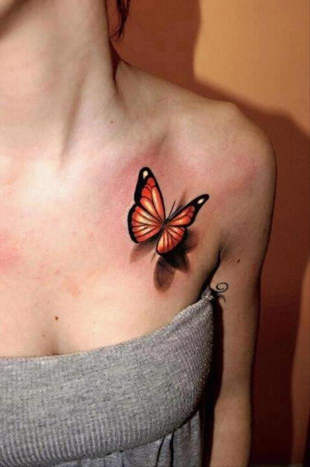 best tattoos 3d butterfly tattoo dump a day. Black Bedroom Furniture Sets. Home Design Ideas