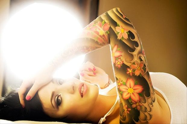 Pretty Girl with Tattoos Tumblr