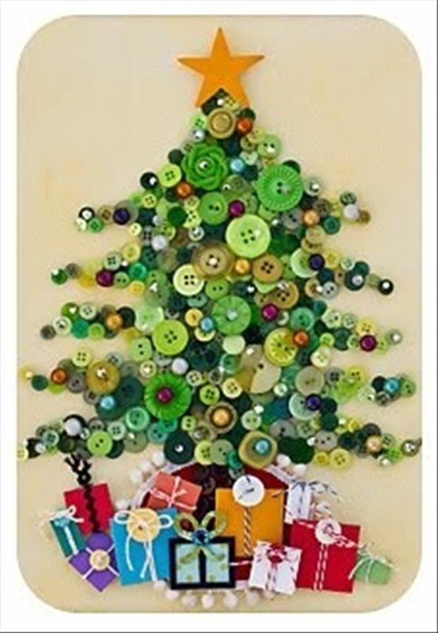 Vintage Christmas Craft Ideas Part - 32: Christmas Craft Ideas (18)