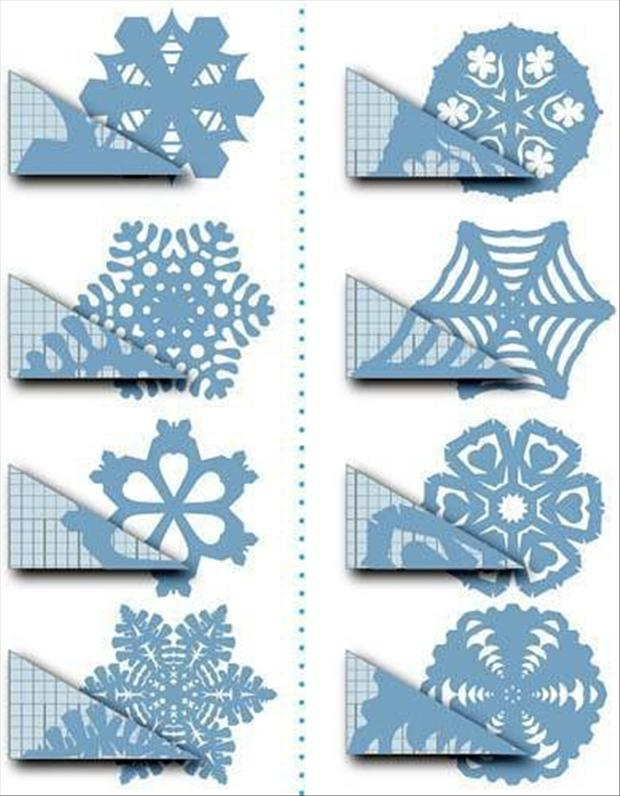 christmas crafts paper snowflakes how to cut a snowflake dump a day. Black Bedroom Furniture Sets. Home Design Ideas