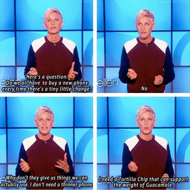 Commercial Quotes Pleasing Funny Ellen Degeneres Quotes  25 Pics