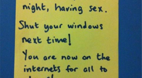 "The Best Of ""Notes To Neighbors""  – 40 Pics"