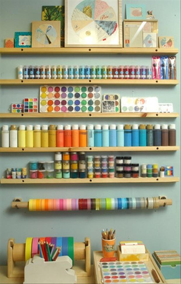 Organize your craft room 1 dump a day for Craft supplies organization ideas
