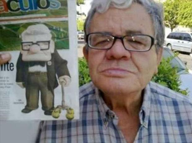 Cartoons In Real Life - Cartoon Characters In Real Life
