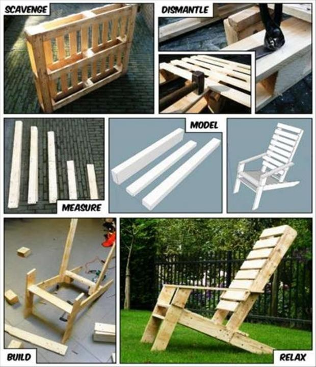 Amazing Uses For Old Pallets 35 Pics